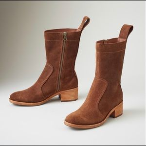 🆕 KORK-EASE | Women Jewel Suede Brown Boots NWT